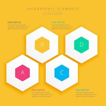 Background design infografica