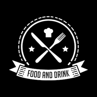 Badge di cibo e ristorante