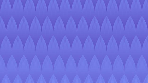 Bakcground geometrico astratto delle foglie del blu