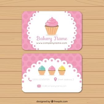 Bakery biglietto da visita