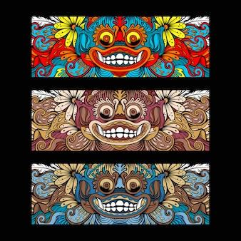 Bali barong culture ornament