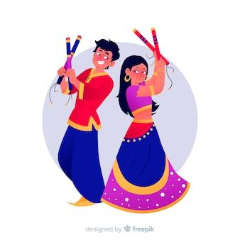 Ballerini dandiya