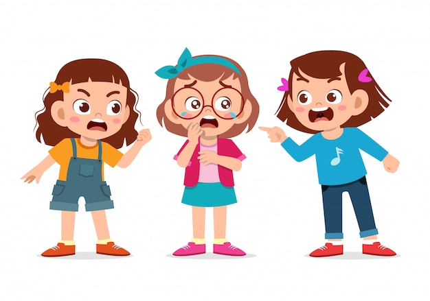 Bambini che combattono