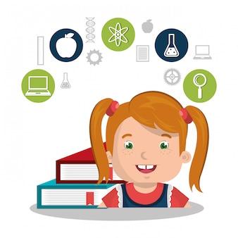 Bambini che studiano