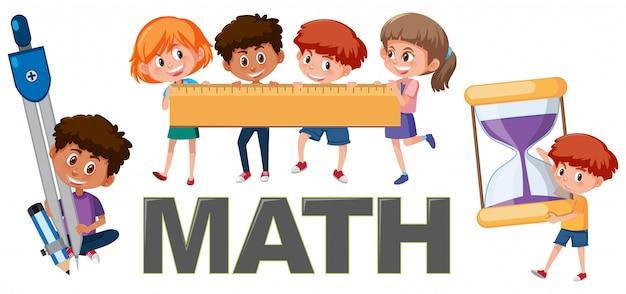 Bambini con strumenti matematici