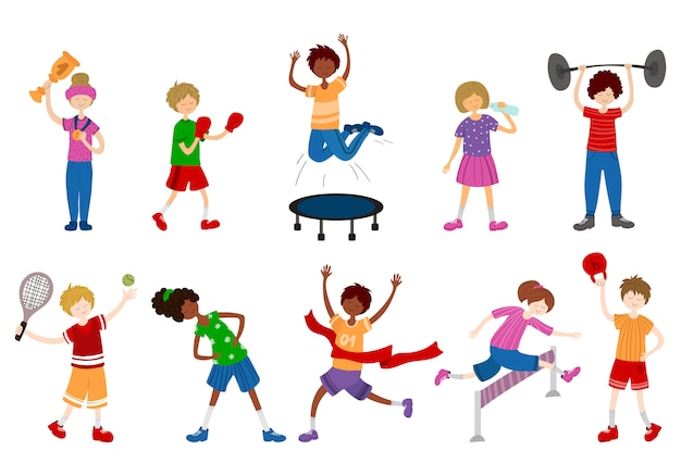 Bambini dei cartoni animati