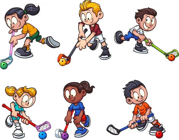 Bambini di floorball