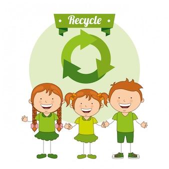 Bambini ecologici