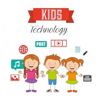 Bambini tecnologici