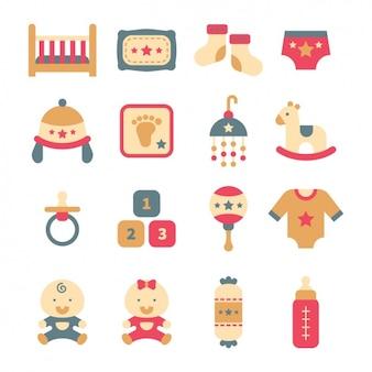 Bambino elementi di design