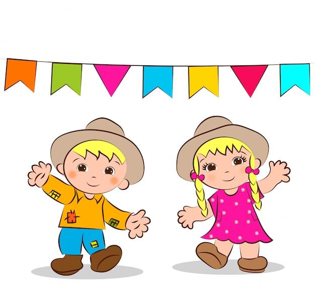 Bambole di festa di giugno