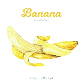 Banana acquerello