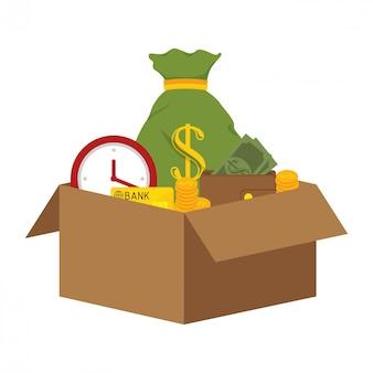 Banca e risparmio di denaro
