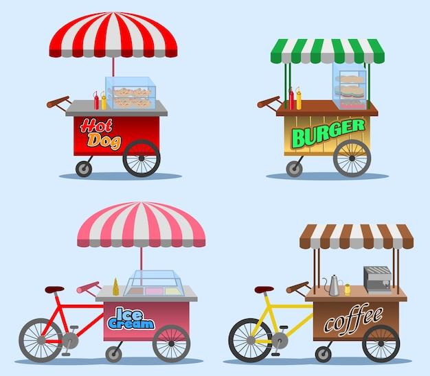 Bancarella di cibo di strada