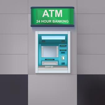 Bancomat con lightbox