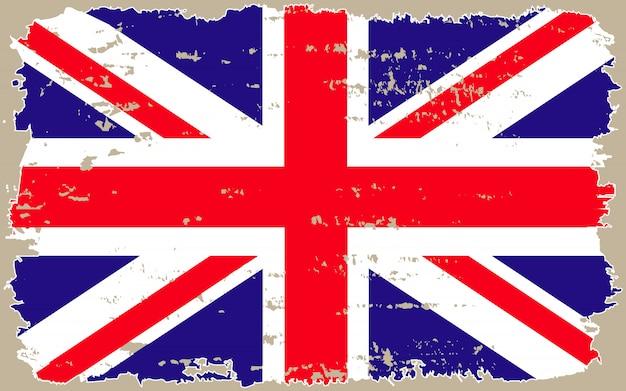 Bandiera britannica grunge