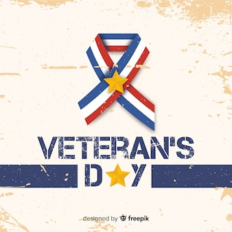 Bandiera del giorno dei veterani