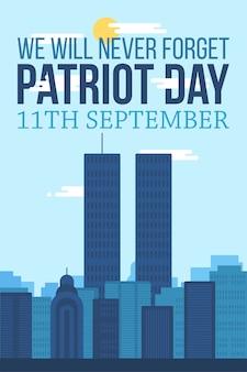Bandiera del giorno del patriota