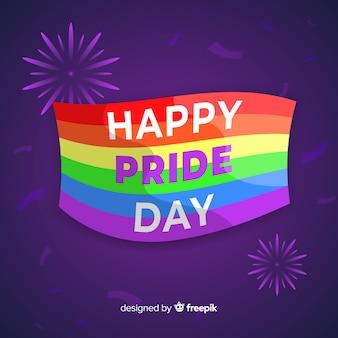 Bandiera del giorno dell'orgoglio