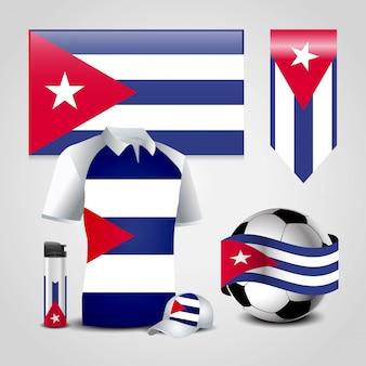 Bandiera del paese di cuba