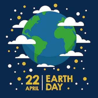 Bandiera della terra madre giorno