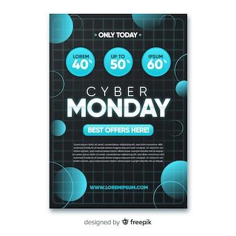 Bandiera di cyber lunedì