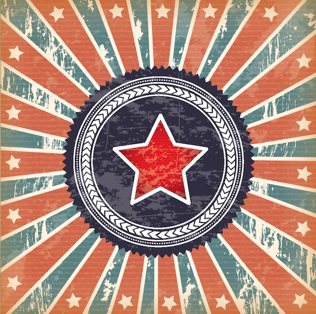 Bandiera e stella