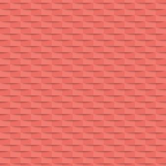 Bandiera rosa geometrica senza giunte. illustrazione.