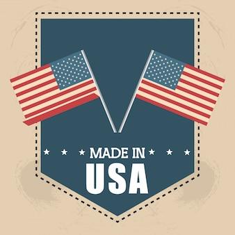 Bandiera stati uniti america design
