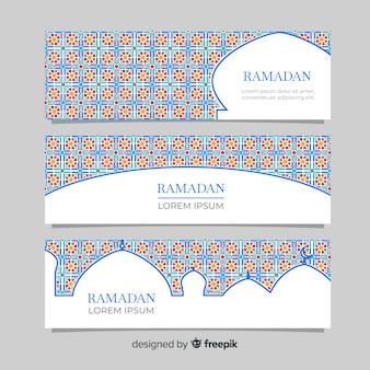 Bandiere del ramadan