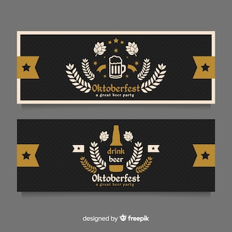 Bandiere dell'oktoberfest