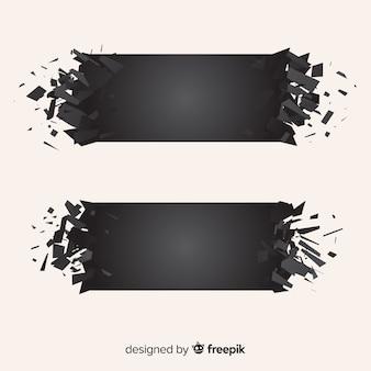 Bandiere di esplosione