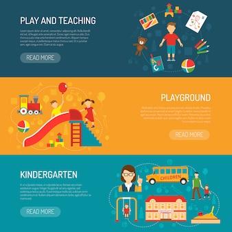 Bandiere horizonta kindergarten