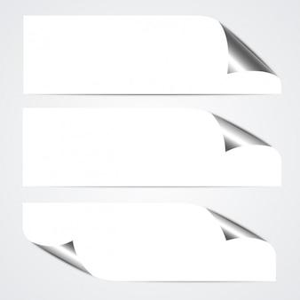 Banner arricciati pacco
