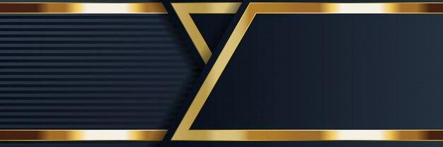 Banner astratto geometrico con trama brillante