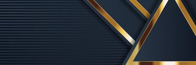 Banner astratto geometrico con trama