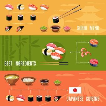 Banner cibo asiatico