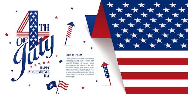 Banner del 4 luglio