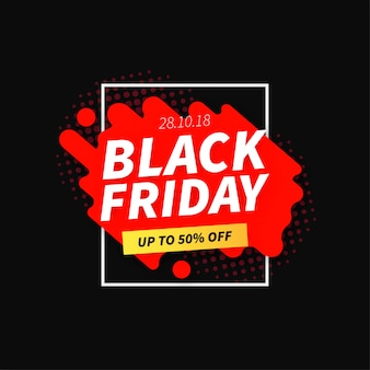 Banner del black friday