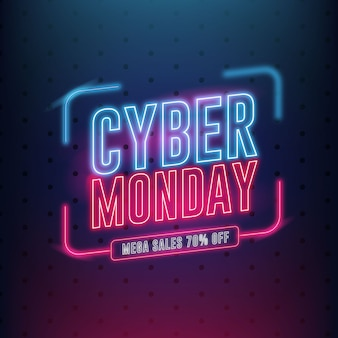 Banner del cyber monday