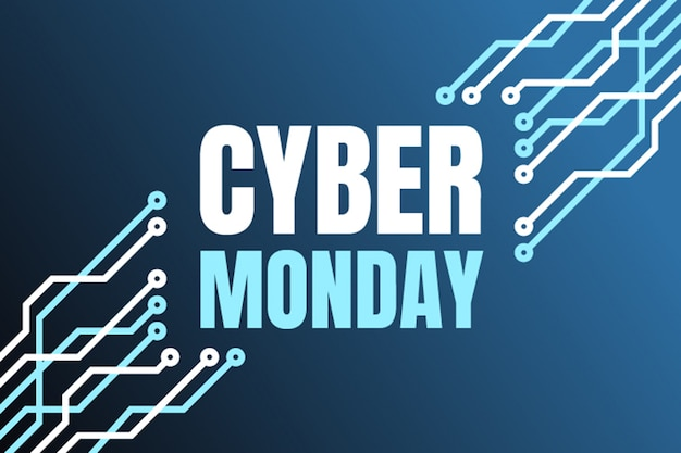 Banner del lunedì cyber
