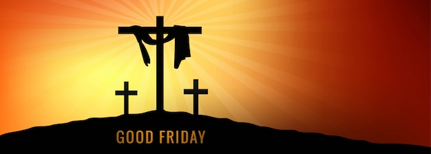 Banner del venerdì santo