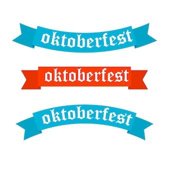 Banner dell'oktoberfest