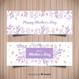 Banner della festa della mamma