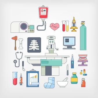 Banner di assistenza medica