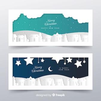 Banner di auguri di natale