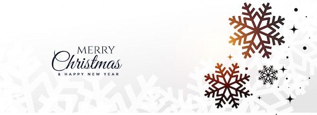 Banner di buon natale e felice anno nuovo