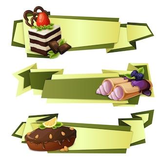Banner di carta da dolci