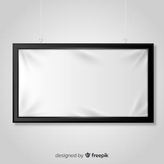 Banner di cartello tessile