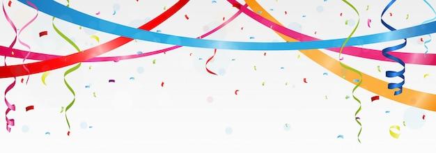 Banner di compleanno e celebrazione